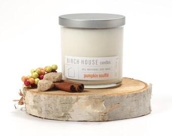 Birch House Candles, soy wax, pumpkin soufflé, fall candle, Short Hills, Millburn, New Jersey