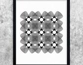 Black and White Print, Printable Art, Geometric Art, Digital Print, Abstract Wall Art, Modern Minimalist Decor, Abstract Art Print, Line Art