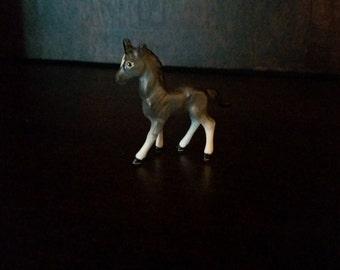 Small Gray Bone China Horse