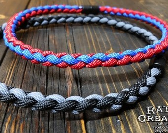 Paracord Necklace 4 Strand Braid