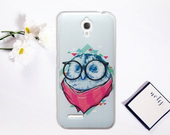 Owl Alcatel OneTouch Idol 2 Mini Case Vintage Hipster