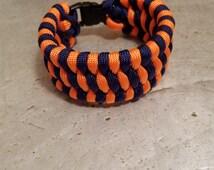 2-Color Paracord (Trilobite Pattern) Bracelet