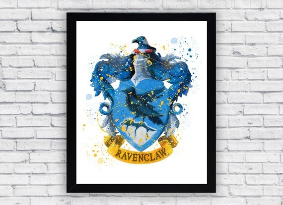 Crazy image pertaining to ravenclaw crest printable