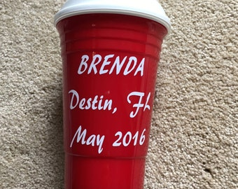 Red solo cup - personalized