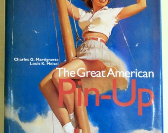 Vintage pin-up history book The Great American Pin up Tashen 1996