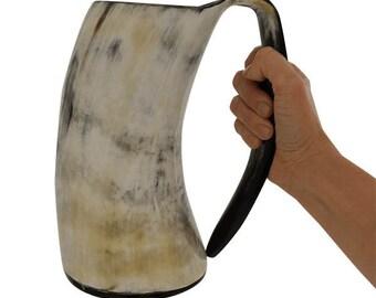 AleHorn 36oz Drinking Horn Tankard