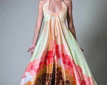 Fleur Kelinza taylor halter neck dress