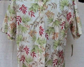 Large Vintage Cambria Short Sleeve Hawaiian Shirt