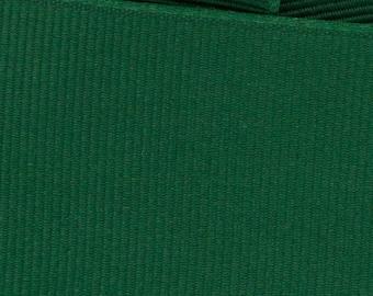 Forest Green Grosgrain Ribbon     (05-##-S-017)