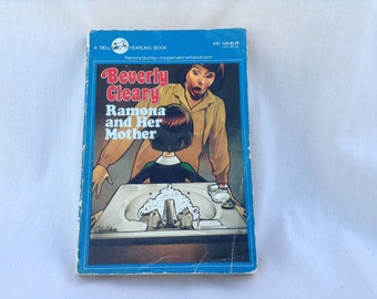 Ramona And Her Mother Paperback Book Beverly Cleary 1980s 1990s Fiction Novel