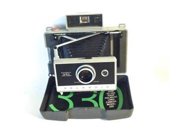 Vintage Polaroid Land Camera 330 With Cold Clip No. 193 With Instruction Booklet Mid Century Retro Vintage Camera