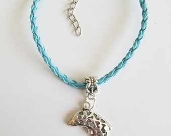 10 Pieces - Dolphin Bracelets Party Favors