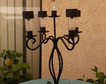 5 Light solar lamp