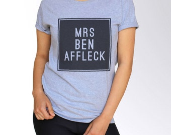 Ben Affleck T Shirt - S M L