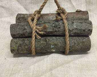Maple firewood logs