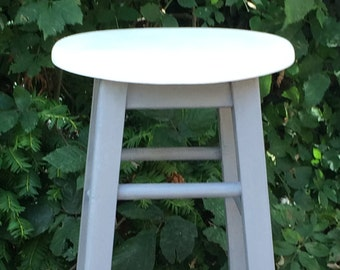 Now Sold.... Painted Wooden Stool