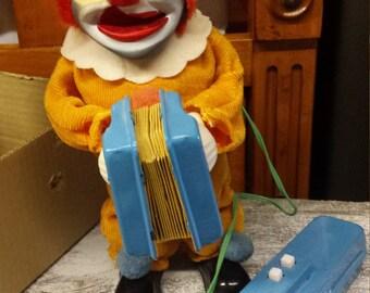 Vintage Happy N Sad Face Clown