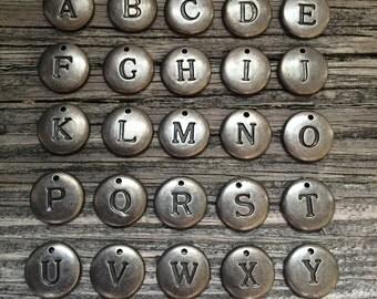 Alphabet Charms/ Jewelry Making