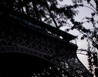 Paris Photography, Fine Art Print, Eiffel Tower, Paris Print, Home Decor, Paris Decor, Tour Eiffel, Paris Sunset, Pastel Skies