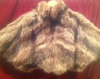 1950's Ladies  Real Fur Short Jacket .