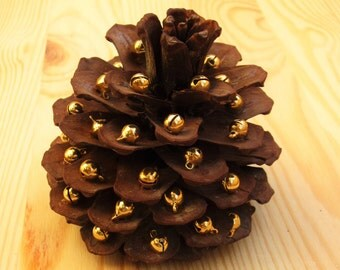 natural pine cone table decoration
