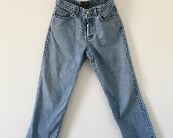Vintage Cropped Jeans