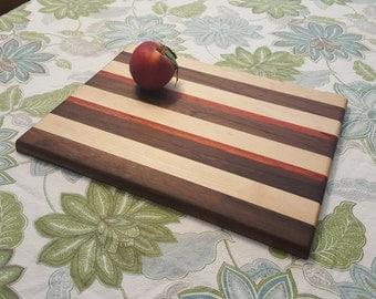 Large Handmade Hardwood Cutting Board