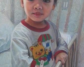 Little Girl At Ward