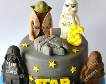 Witch And Sith Wedding Harry Potter Star Wars Cake Topper
