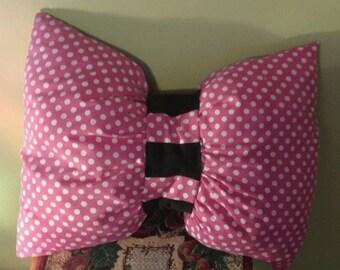 14X16 Minnie Decorative Bow Pillow