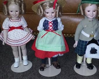 Vintage Shirley Temple dolls