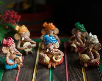 Samruddhi Crafts Musical Lord Ganesha set