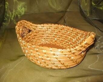 Handmade Pine Needle Baskets