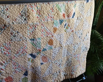 Contemporary Baby Quilt, Crib Quilt, Baby Shower Gifts, Handmade Baby Quilts, Modern Baby Quilt