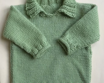 Child's Collared Sweater