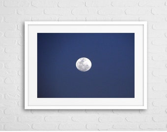 Moon Art Photo With Frame