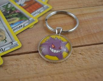 Gengar Pokemon Keychain