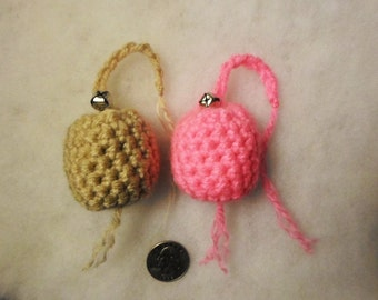 Crochet Catnip Infused Bell Toy