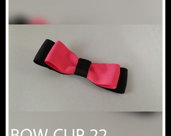 Bow Clip ~ made to order
