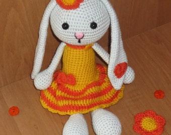 Sunny Bunny, Rabbit, Handmade, Amigurumi, Toys