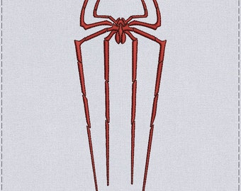 Spider Machine embroidery design