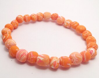 Feed Beads Bracelet - Peachy Keen