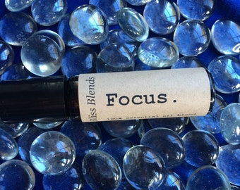 Focus. Roll-on Essential Oil Blend