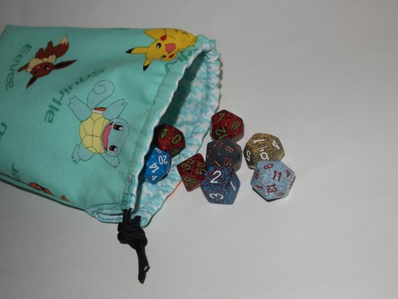 Pokemon Flat Bottom Bag