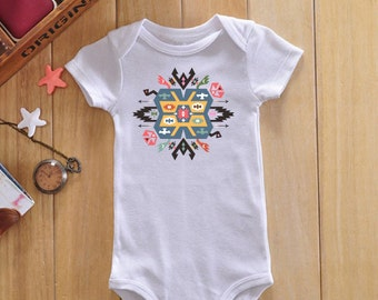 Native american baby clothes, indian baby onesie, bohemian baby clothes, boho baby clothes, tribal onesie, hipster baby clothes, baby gifts