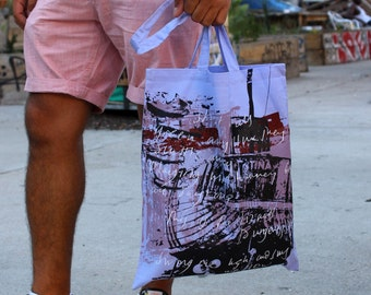 Dungeness tote bag in violet