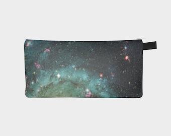 Galaxy Pencil Case, Space Pencil Case, Galaxy Pouch, Space Pouch, Galaxy Pencil Bag, Galaxy Pen Pouch, Galaxy Make Up Pouch, Make Up Bag,