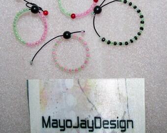 4 BJD adjustable bracelets