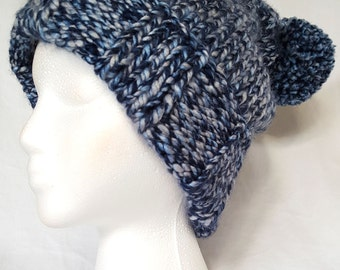 Adult Hand Knit Winter Hat