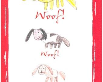 Woof! card